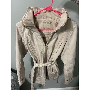 Calvin Klein Rain coat. Size XS